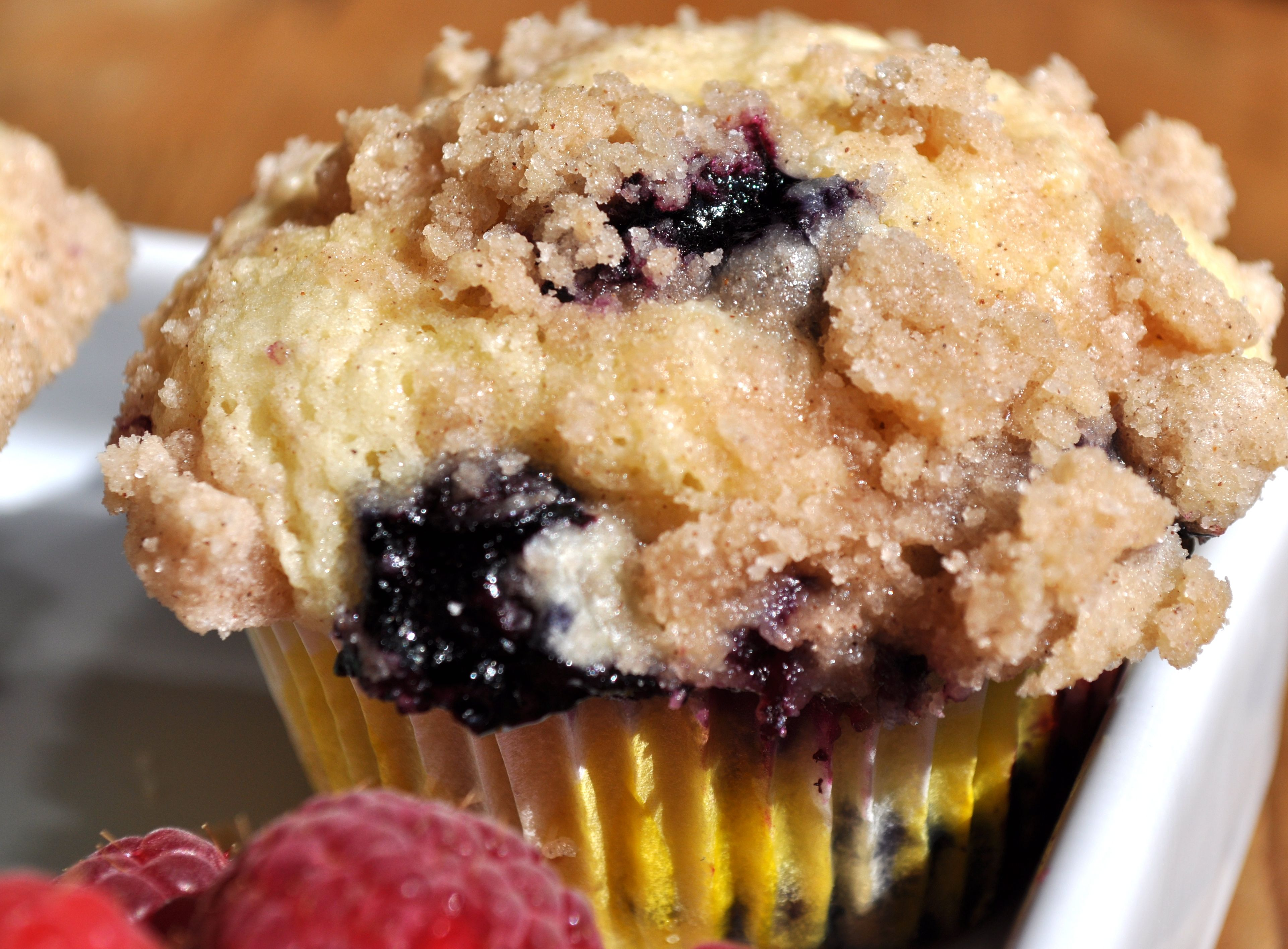 Big Blueberry Muffins The best blueberry muffins in the world! tiny ...