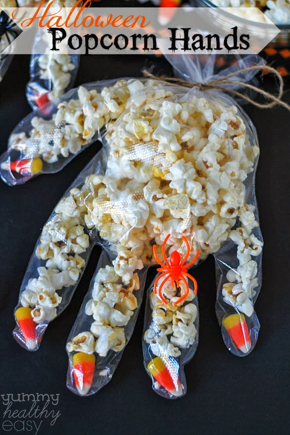 popcorn hands pick up some food handler gloves candy corn and
